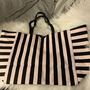 Victoria's Secret Striped Tote